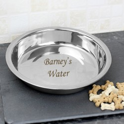 Personalised Engraved Dog Bowl