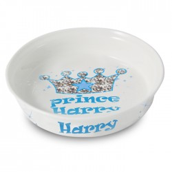 Personalsied Bling Prince Dog Bowl
