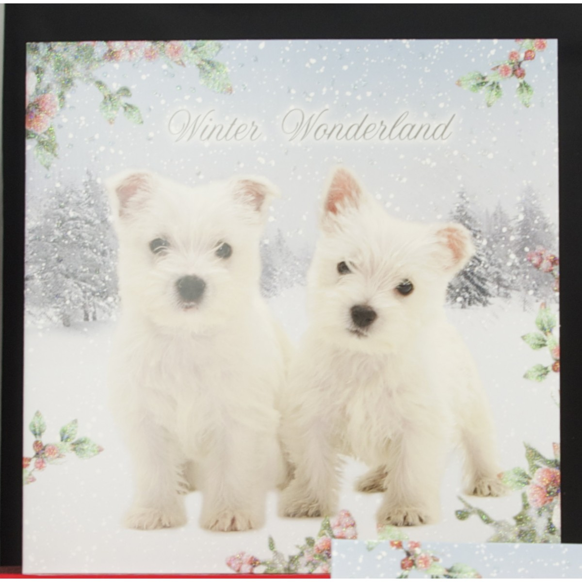 Luxury Westie Christmas Cards | West highland terrier Xmas gifts
