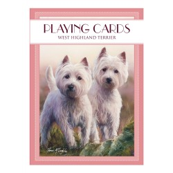Westie Brainteasers Playing Cards
