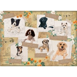 Mixed Dogs Classic Companions Jigsaw