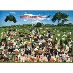 Summer Dogs Jigsaw