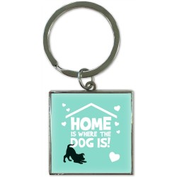 Home is where the Dog is Keyring