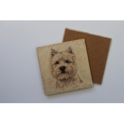 West Highland Terrier Trivet