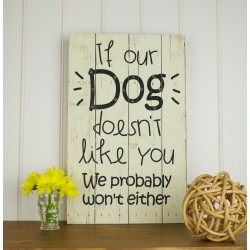 Dog Led Sign
