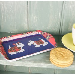 Tartan Terrier Mini Tray