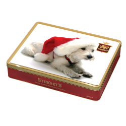 Winter Westie Luxury Christmas Shortbread