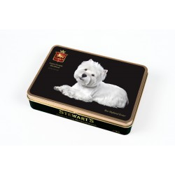 Westie Luxury Shortbread - Rectangular Tin 150g