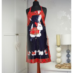 PVC Westie Apron - Tartan Terrier Collection