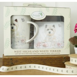 Westie Time For Tea Gift Set
