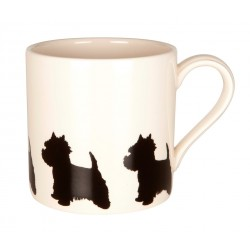 Standing Westie Mug - By Victoria Armstrong