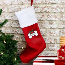 Dog Christmas Stocking - Personalised