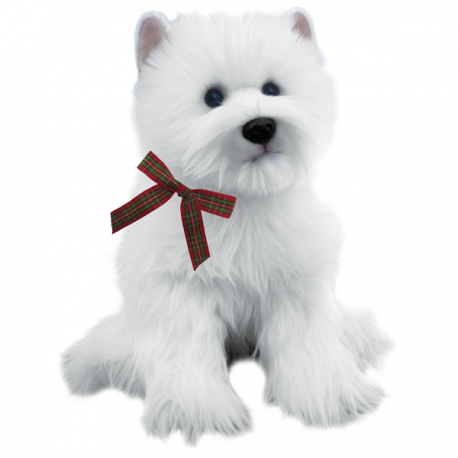 Wallace The Westie Large Westie Soft Toy West Highland White Terrier
