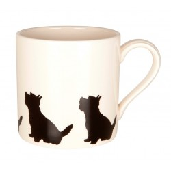 Sitting Westie Mug - By Victoria Armstrong