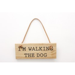 Im Walking the Dog Sign