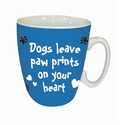 Dogs Leave Pawprints Mug