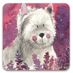 Westie Jock Fridge Magnet by Alex Clark