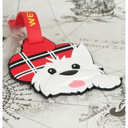 Go Westie Luggage Tag