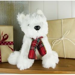 Ivan the Fluffy Westie Soft Toy