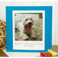 Occasion Personalised Westie Coaster Card