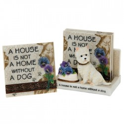 Classic Westie Coaster Set - Set of 6