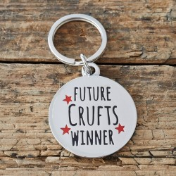 'Future Crufts Winner'  Dog ID Tag