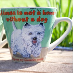 A House Is Not A Home Westie Mug