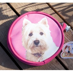 Westie Coin Purses Set of Two - West Highland White Terrier Dog