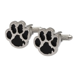 Westie Paw Prints Cufflinks