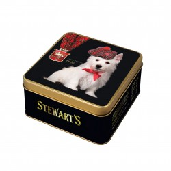 Westie Luxury Fudge - Square Tin 100g