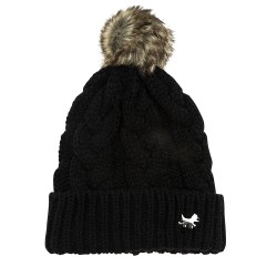 Black Westie Bobble Hat