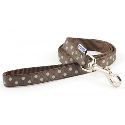 Perfect Polka Mocha Westie Lead - By Ancol