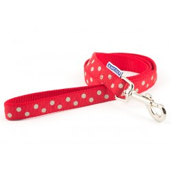 Perfect Polka Red Westie Lead - By Ancol