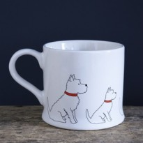Westie Mug by Sweet William