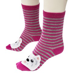 West Highland White Terrier Socks