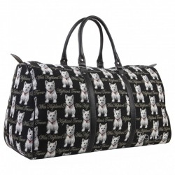 Tapestry Westie Large Holdall - By Signare