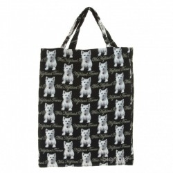 Westie ECO Shopper Bag - By Signare