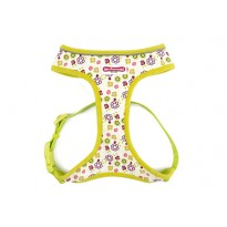 Lime Flowers Comfort Dog Harness - By Ancol