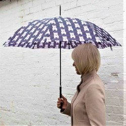 Westie Stick Umbrella - By Signare