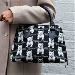 Tapestry Westie Convertible Bag - By Signare