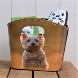 Westie Storage Tidy Basket