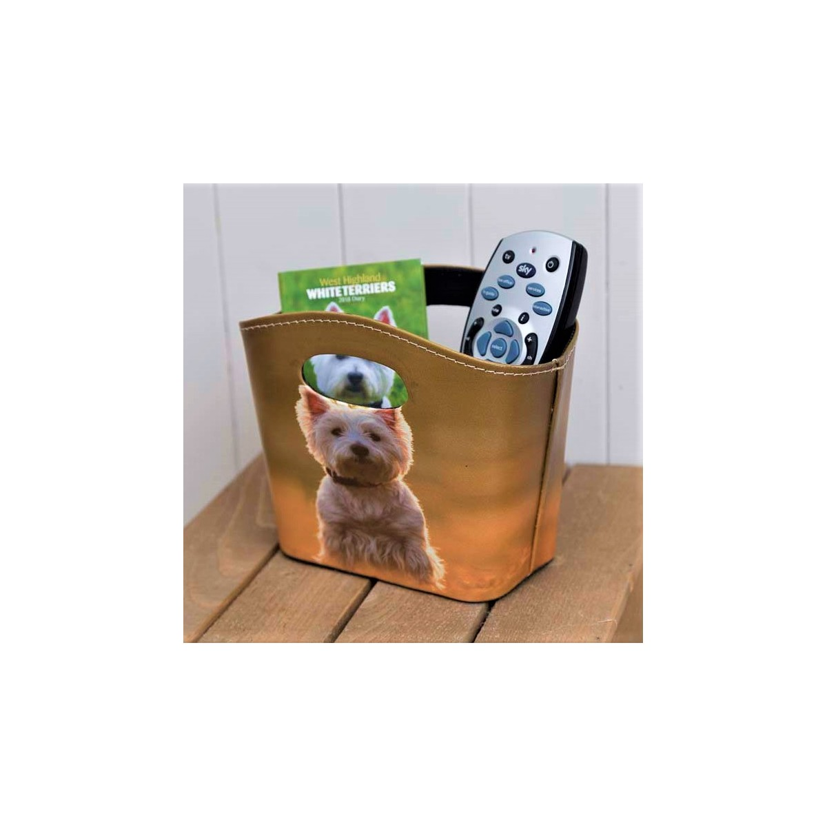 Westie Storage Tidy Basket; Westie Storage Tidy Basket ...