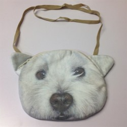 Westie Shaped Handbag