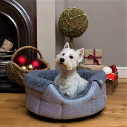 Grey Chelsea Slumbernest Dog Bed