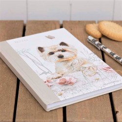 Westie Notebook by Pollyana Pickering