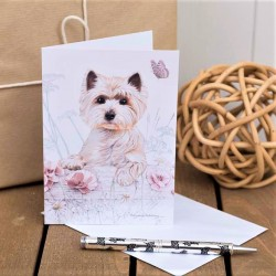 Westie Notecard Pack by Pollyana Pickering
