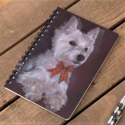 West Highland White Terrier 3D Notebook