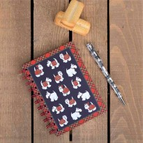 Westie Tartan Terrier Notebook