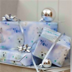 Westie Wonderland Christmas Gift Wrap and Tags Pack of 5