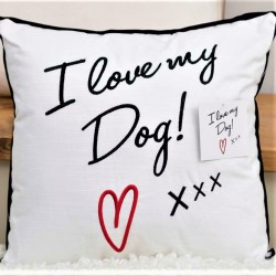 'I Love My Dog' Cushion